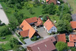 Flugbild-Kastanienhof